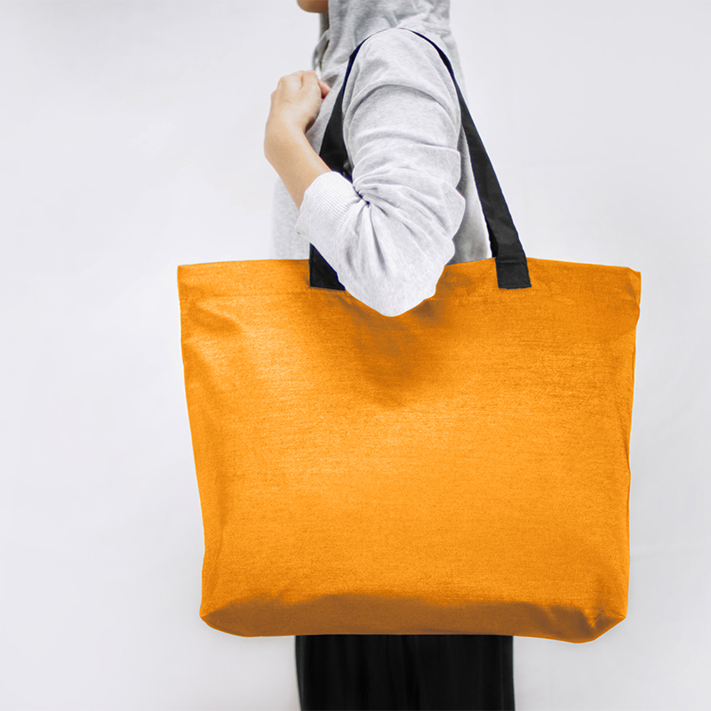 Orange Shopping Bag – Omatti